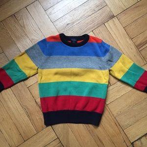 Boys' striped sweater